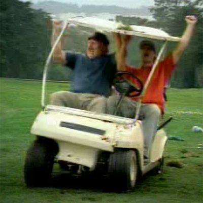PASSIE4GOLF - GOLF IN BEELD - BLOOPERS - GOLF CAR COMMERCIAL