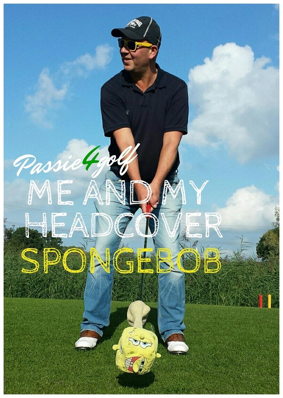 Passie4Golf - hoogtepunten 2015 - me and my head cover - spongebob
