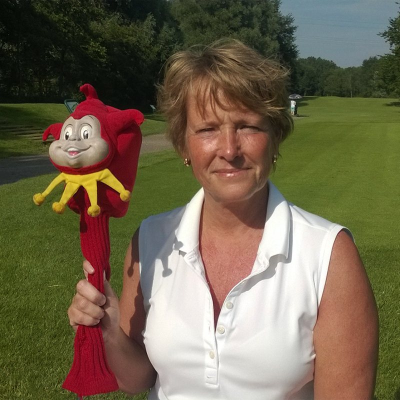 Passie4Golf - Me and my head cover -  Irma Moulin