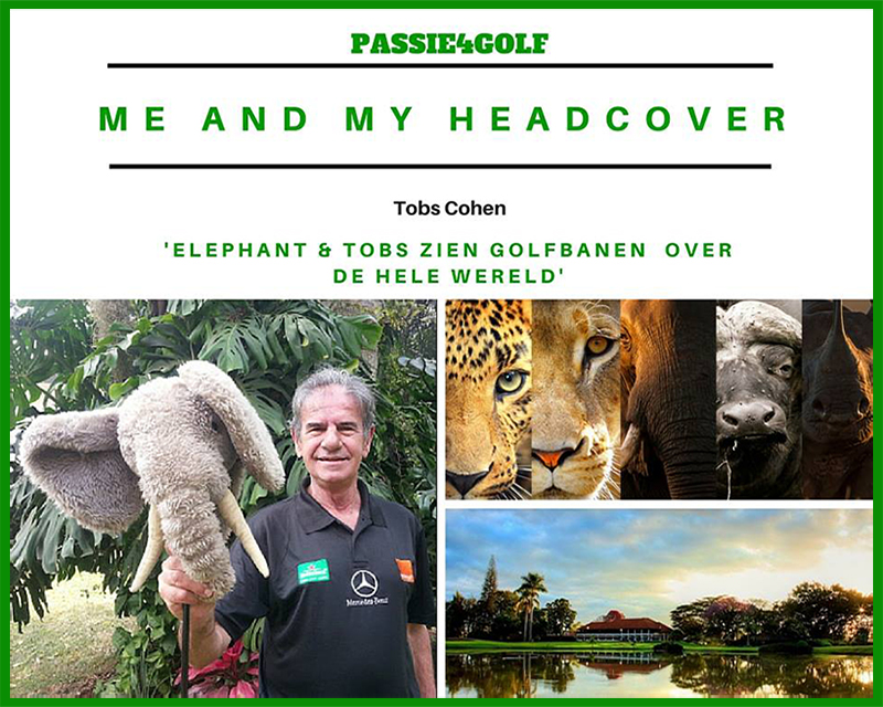 passie4golf - me and my head cover - elephant
