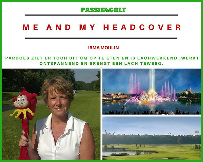 passie4golf - me and my head cover - pardoes