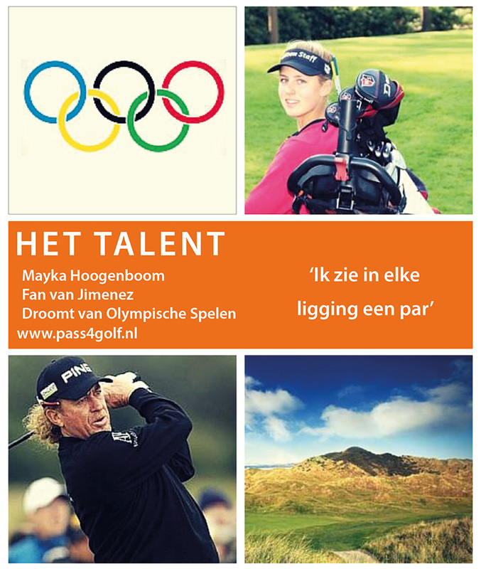 Passie4Golf - Blog - Het Talent